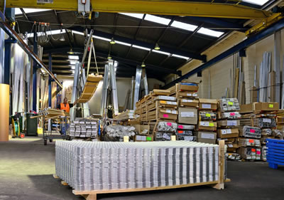 We offer Aluminium extrusions from stock.